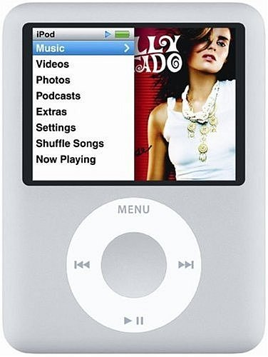 Apple iPod nano 8GB シルバー MA980J/A[All around]