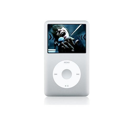 Apple iPod classic 80GB シルバー MB029J/A[All around]