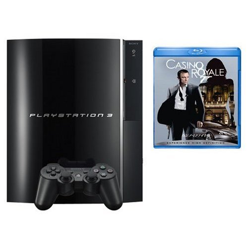 PLAYSTATION 3(60GB) 特典 Blu-ray Disc「007カジノロワイヤル」付き[All around]